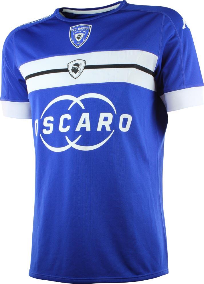 Prima maglia Bastia 2016/2017