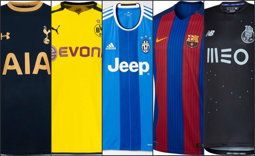 super popular 14750 79278 Tutte le maglie della Champions League 2016 17