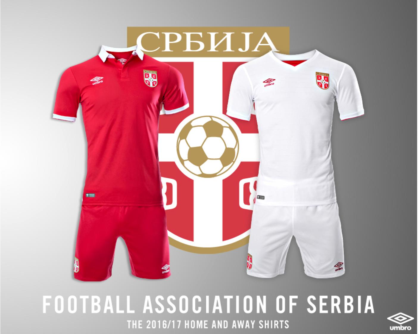 maglia serbia 2016
