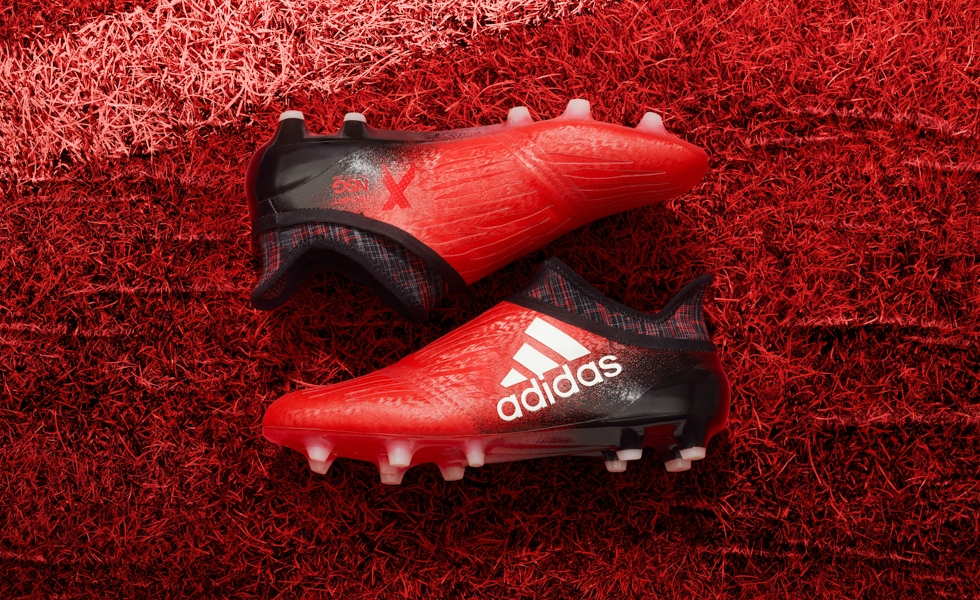 Adidas lancia le X 16 Red Limit