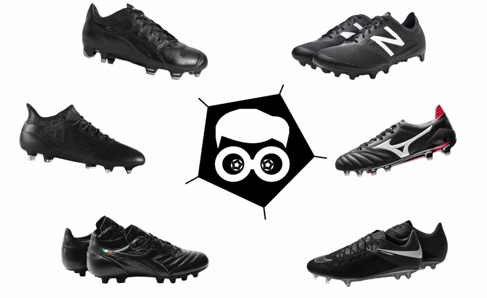 All in black, le scarpe da calcio nere del 2016