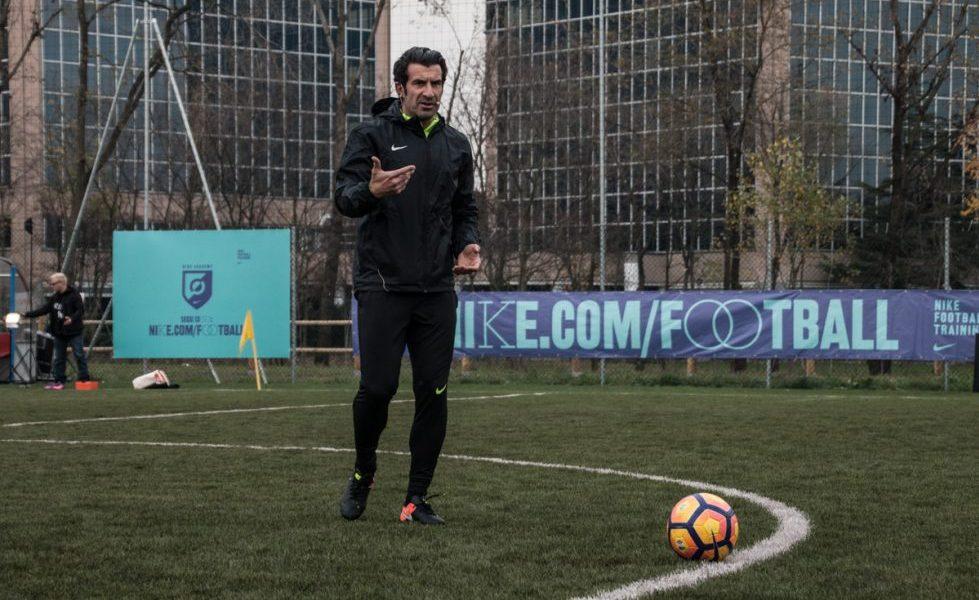 Nike Academy a Milano con Luis Figo