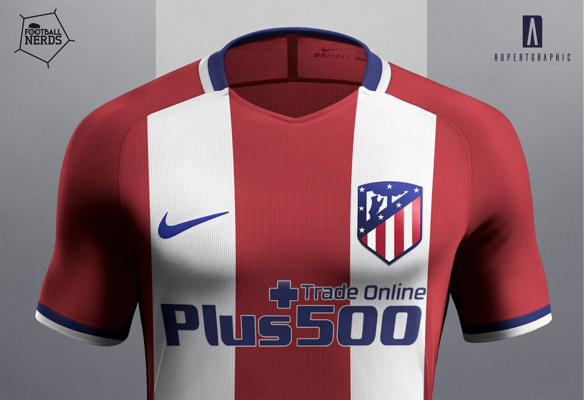 68cc89013 Atletico Madrid 2017 18 concept kit by Rupertgraphic