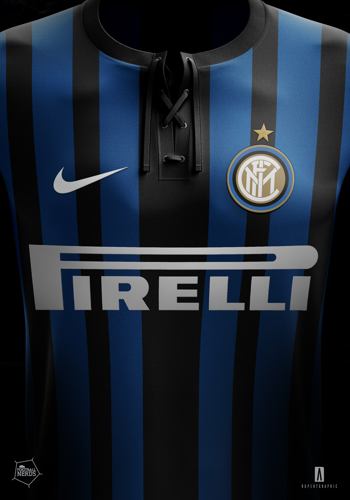 Inter 2017 18 concept kit nike by rupertgraphic for House wallpaper 2017