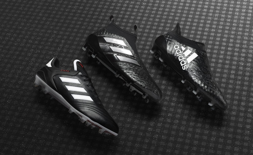 Adidas in tackle sul 2017: è il Chequered Black Pack