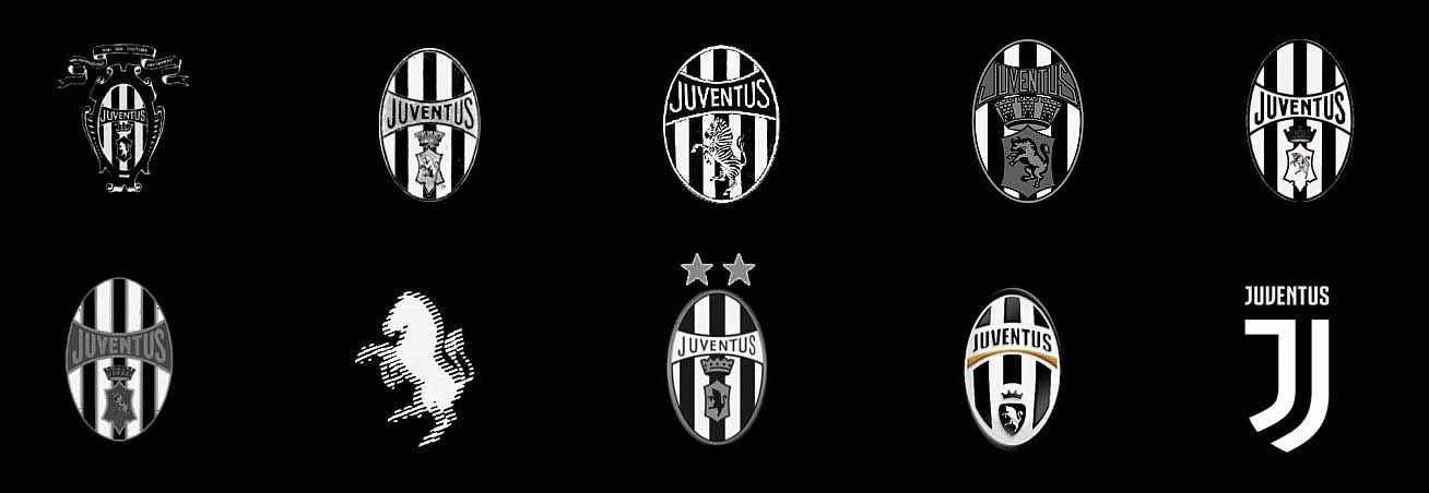 juventus l analisi del nuovo logo. Black Bedroom Furniture Sets. Home Design Ideas