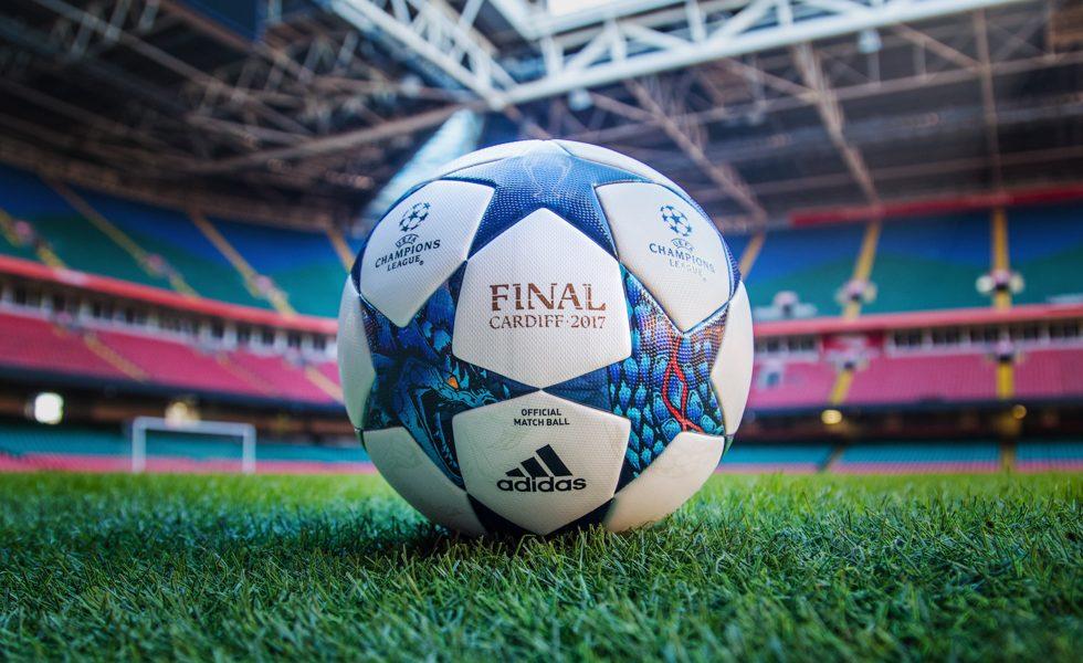 Adidas, il pallone per la fase finale della Champions League 2017