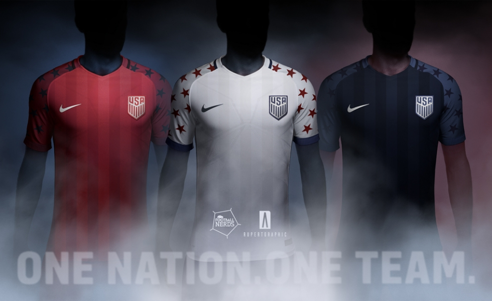 Il concept kit US Soccer 2017 by Rupertgraphic