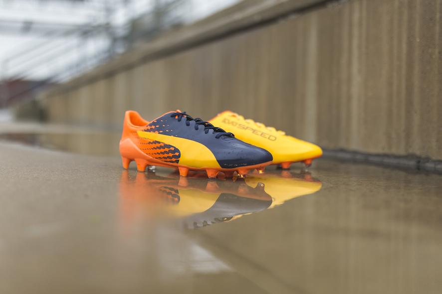Puma evoSPEED 17 Ultra Yellow & Orange