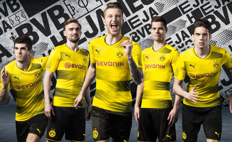 Puma lancia la nuova maglia home del Borussia Dortmund
