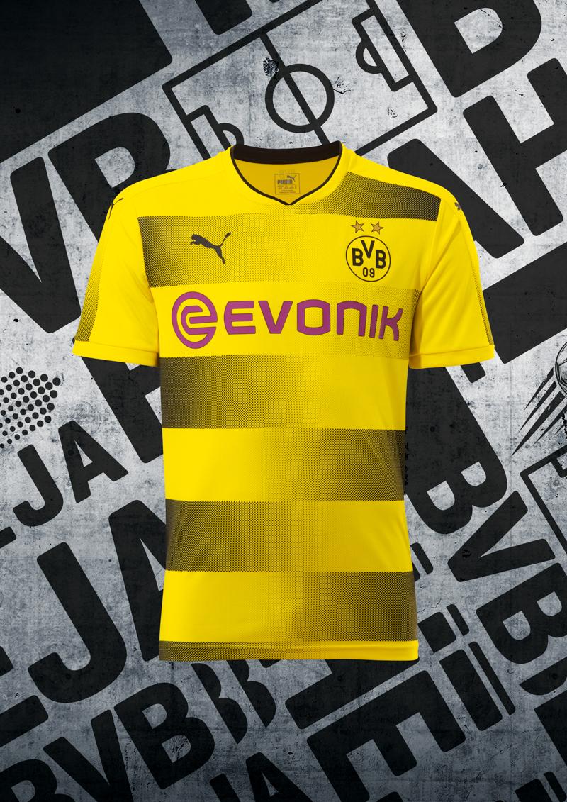 Maglia Home Borussia Dortmund 2017 18