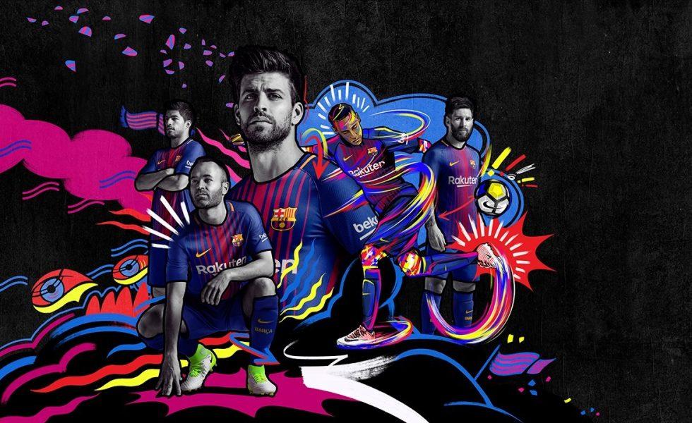Nike lancia la maglia home del Barcellona 2017/18