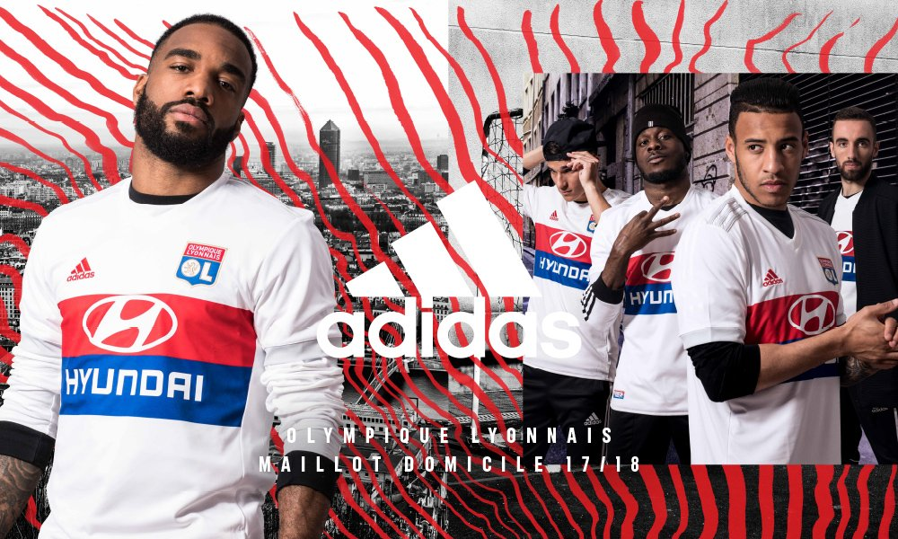 Maglie Olympique Lione 2017 18