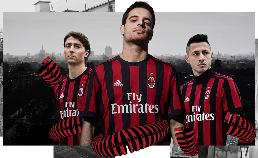 Less is more: la maglia home del Milan 2017/18