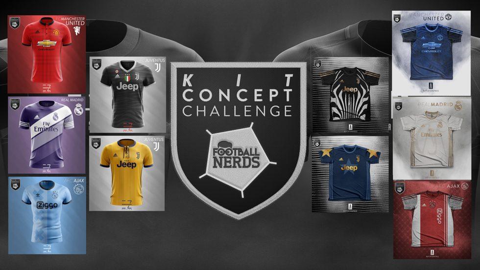 Tutti Concept Kit da calcio della nostra Kit Concept Challenge