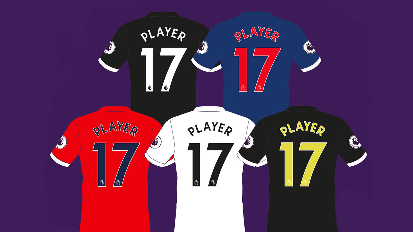 Maglie Premier League 2017-2018 maglie