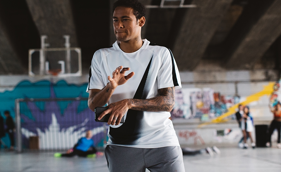 Nike, la playlist/mixtape di Neymar