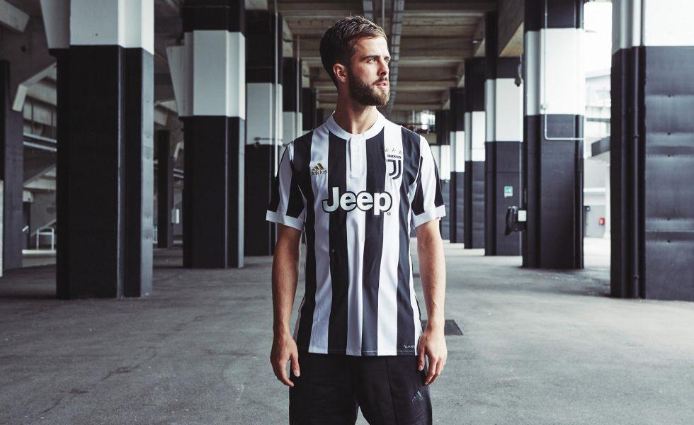 Juventus, la nuova maglia 2017/18