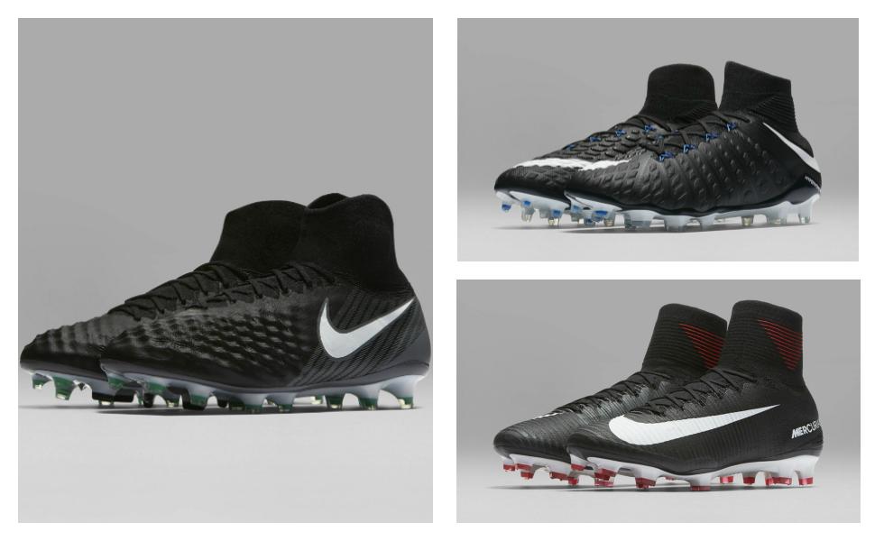 Nike lancia la nuova collezione di scarpe Nike Pitch Dark
