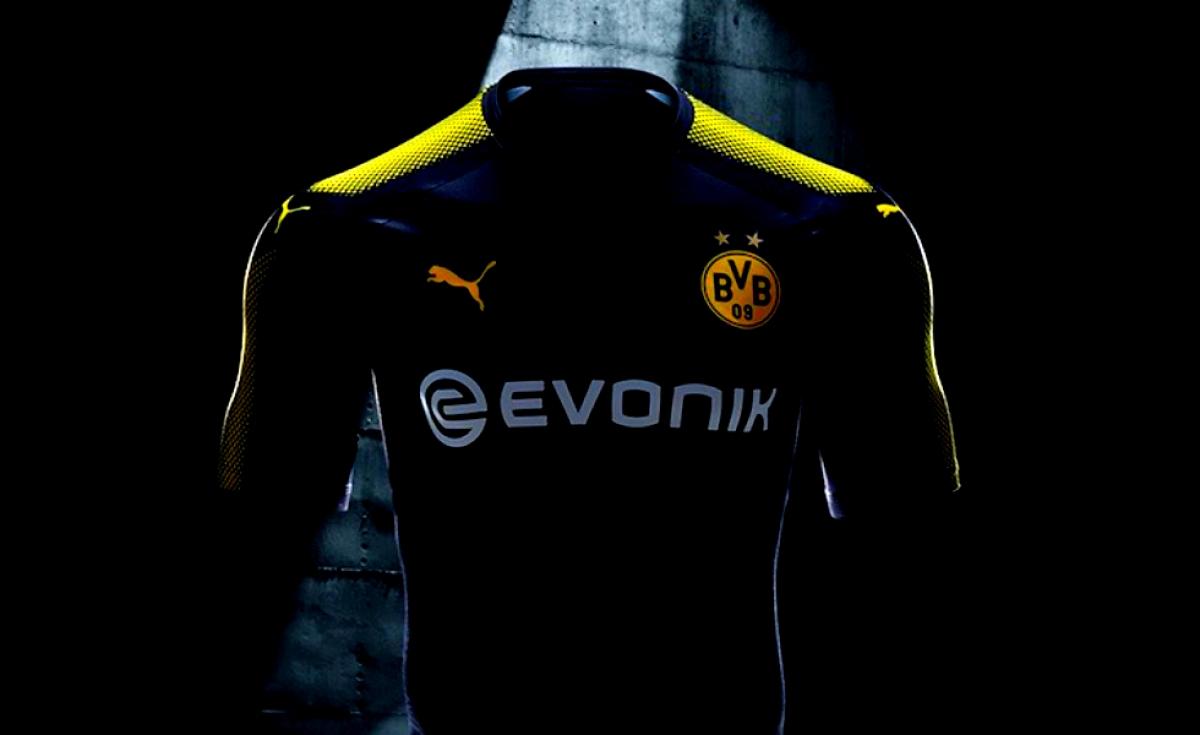 Borussia Dortmund, la maglia away è nera