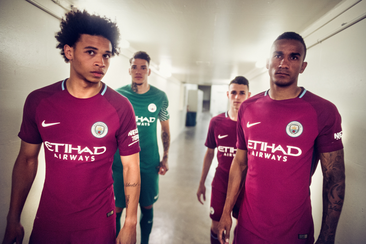 Maglia Away Manchester City 2017 2018