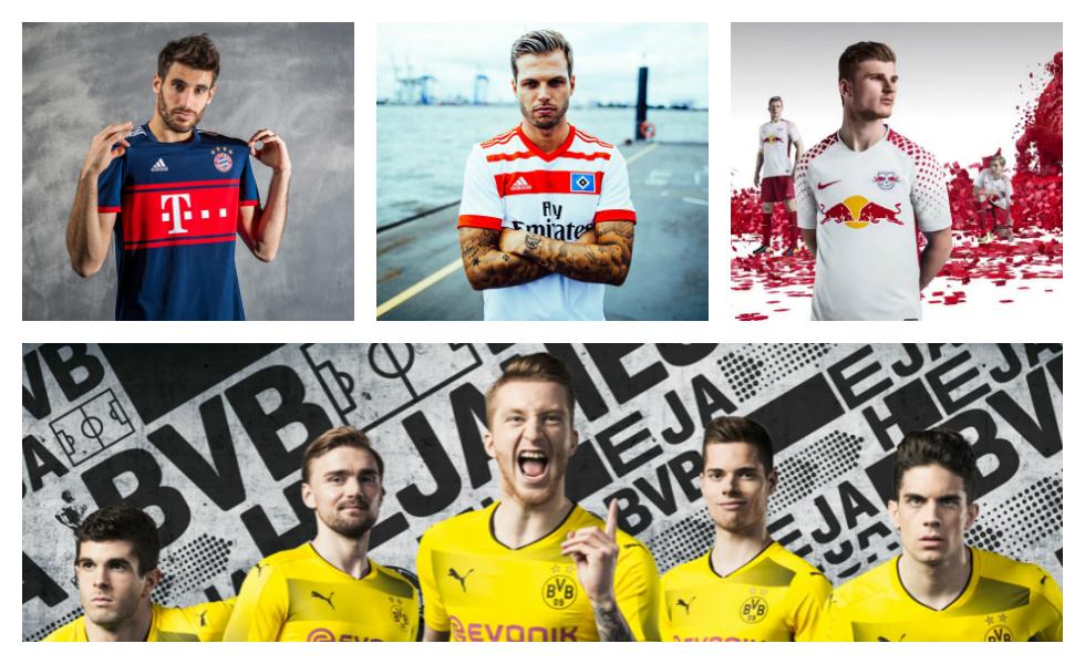 Tutte le maglie della Bundesliga 2017 2018