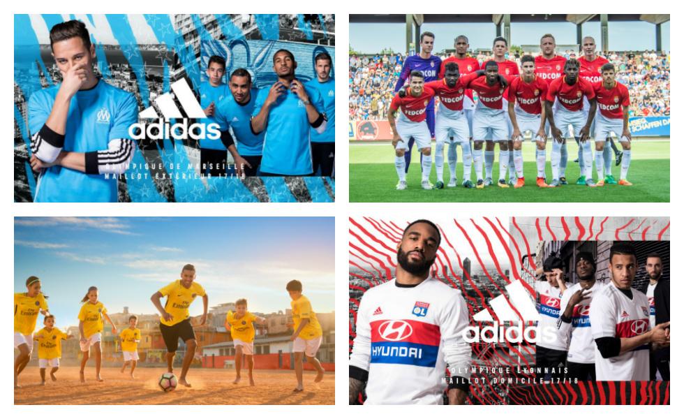 Tutte le maglie della Ligue 1 2017/18