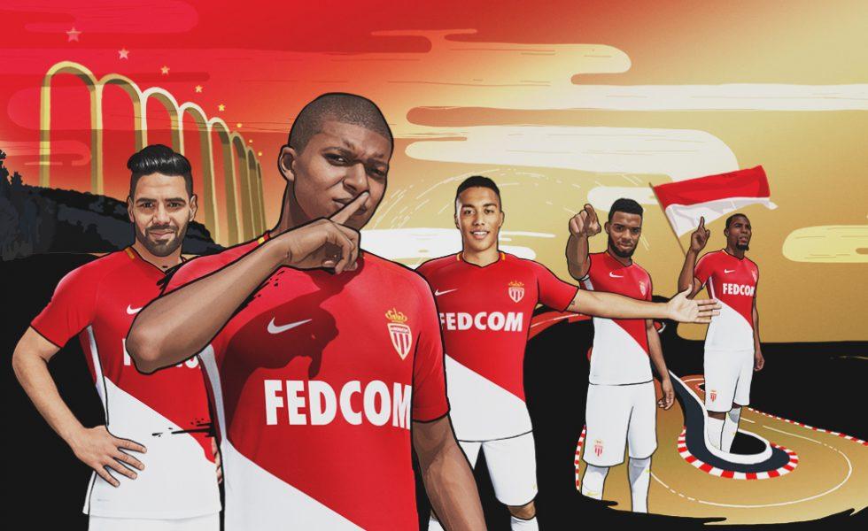 Monaco, le maglie Nike per la stagione 2017/18