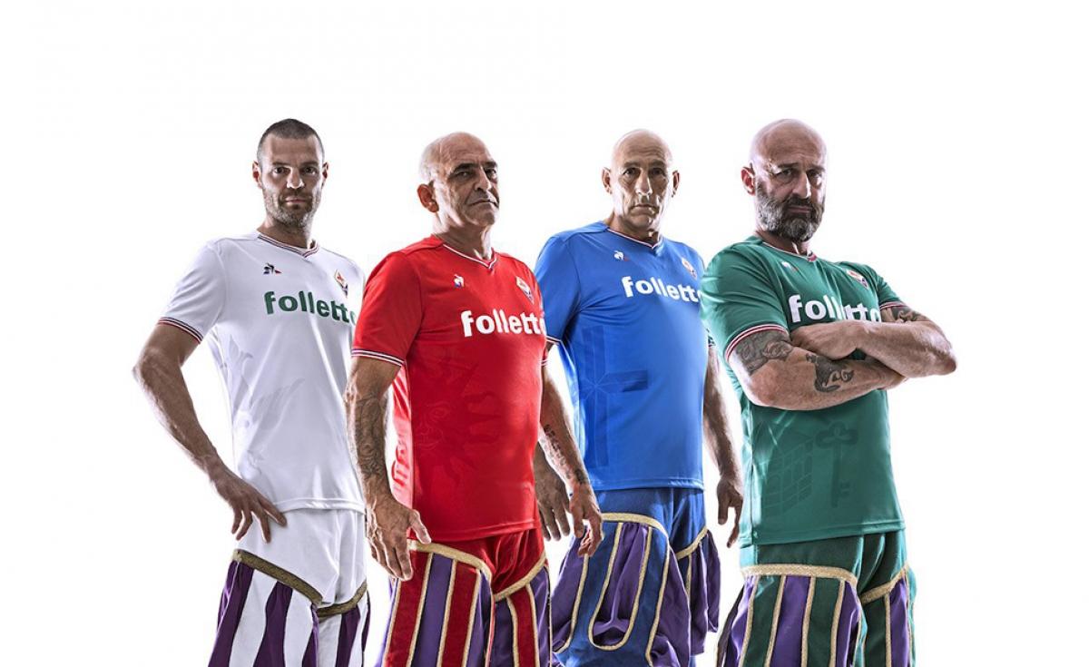 Le Coq Sportif, ecco le nuove maglie della Fiorentina 2017-2018