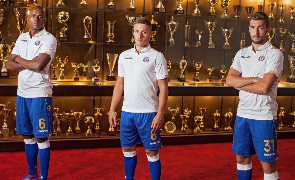 Macron, le maglie dell'Hajduk Split 2017/18