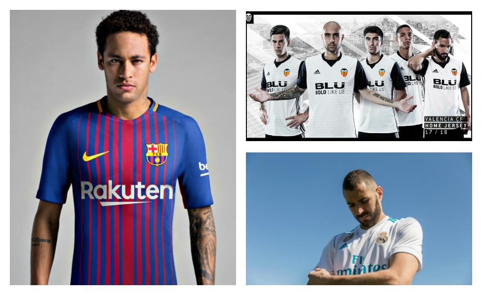 Tutte le Maglie della Liga spagnola 2017 2018