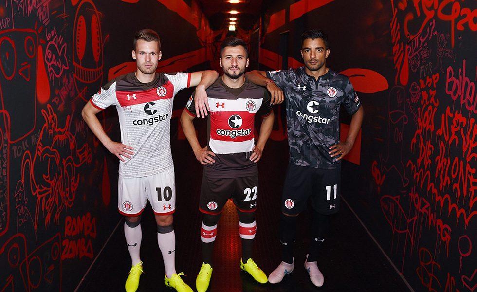 Under Armour svela le maglie del St. Pauli 2017 18