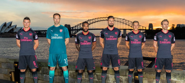 terza maglia Arsenal 2017-2018