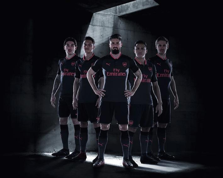 Seconda Maglia Arsenal 2018