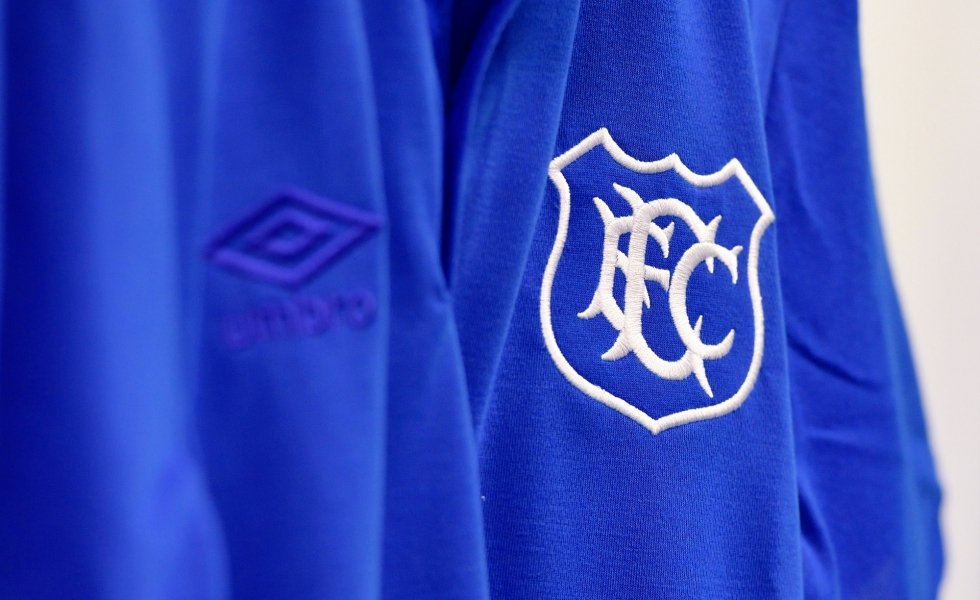 Umbro, lo speciale kit Everton Goodison Park 125 years