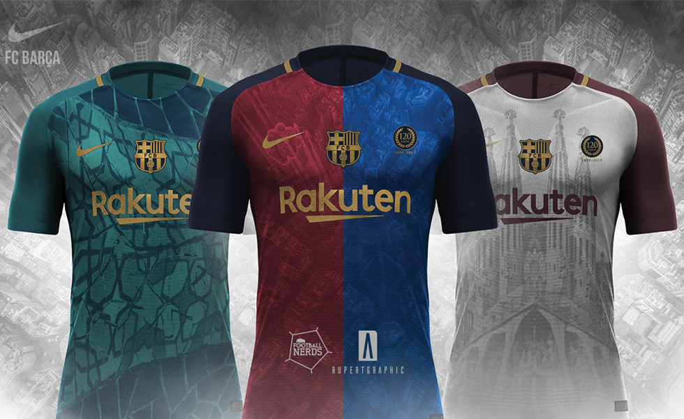 Il Concept Kit Barcellona 2018 2019 by Rupertgraphic