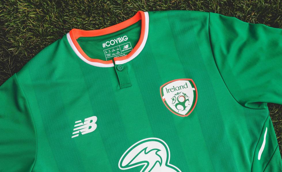 New Balance, le nuove maglie per l'Irlanda