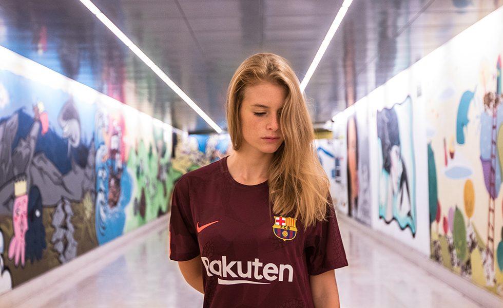 Marghe e la terza maglia del Barça 2017/18 (FOTO)