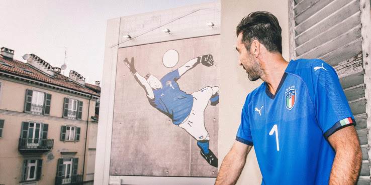 Maglia Italia mondiali 2018