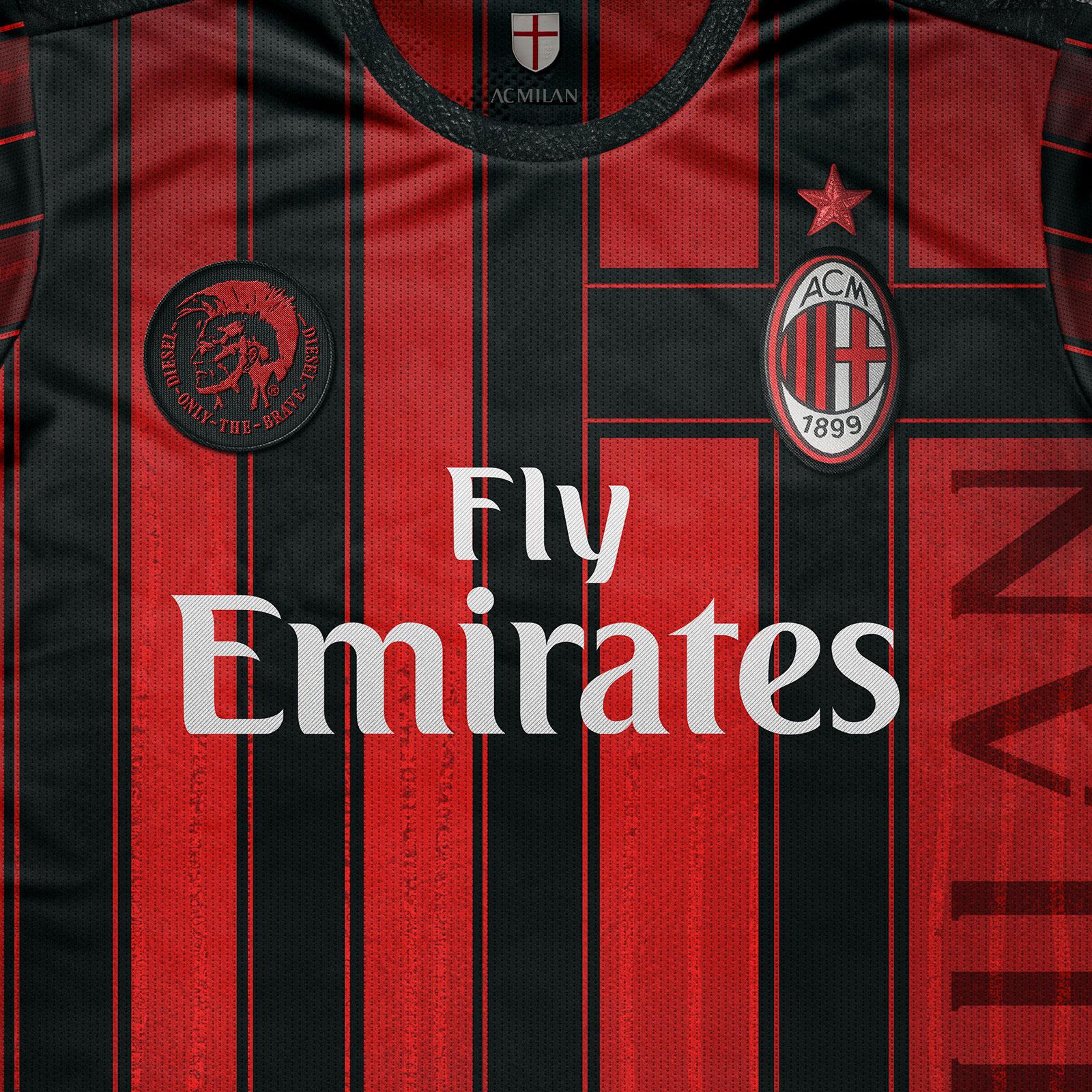 Maglia Milan 2018