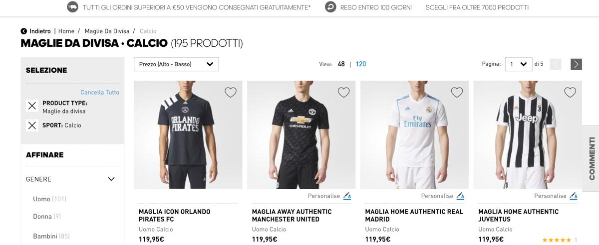 promo code e4137 f7275 I nostri consigli su dove comprare maglie da calcio online