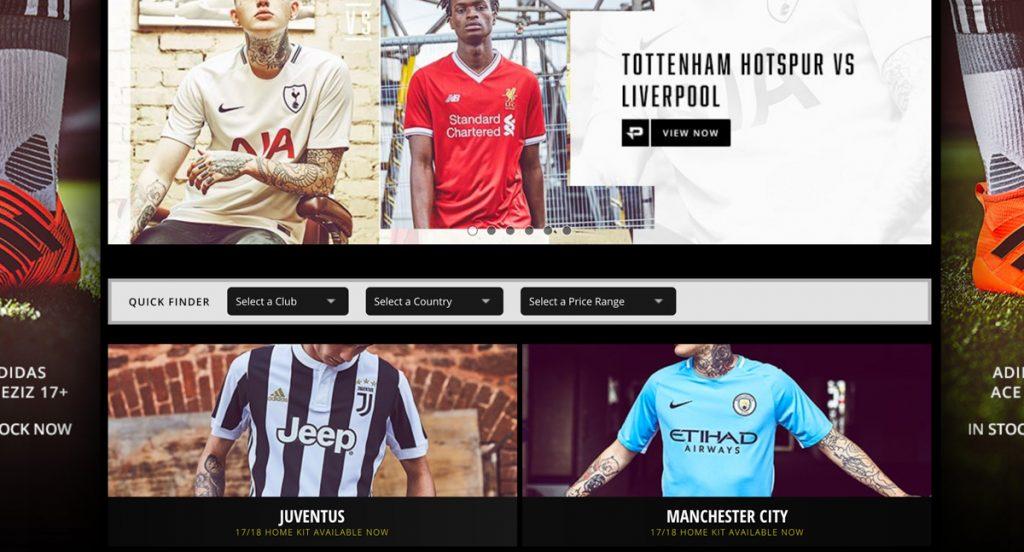 dove comprare maglie calcio online
