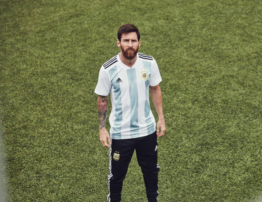 Maglie Argentina Russia 2018