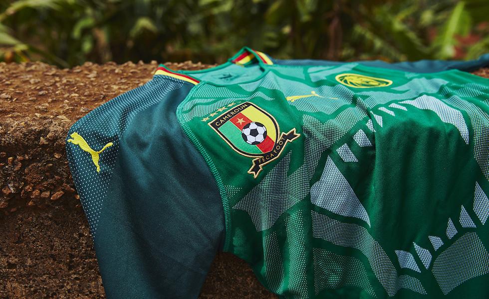 """Puma, la maglia Camerun 2018 è """"ruggente"""""""