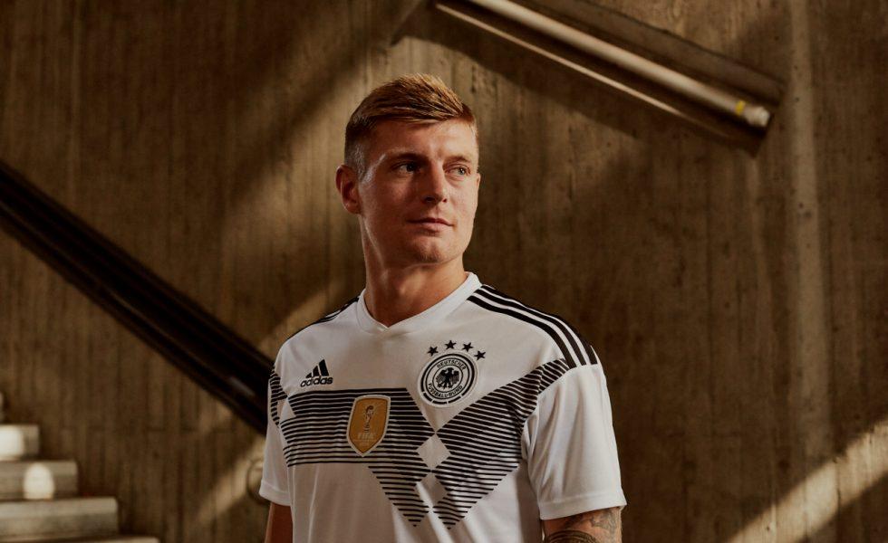 Da Roma a Mosca: la maglia della Germania per i Mondiali