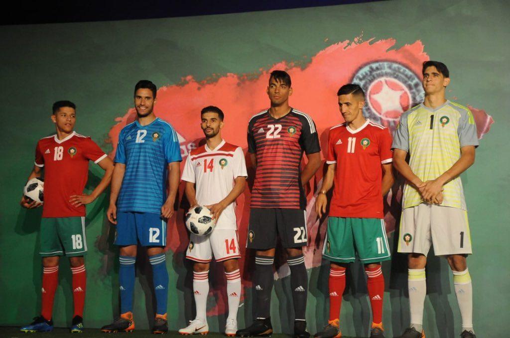 maglie mondiali russia 2018 marocco