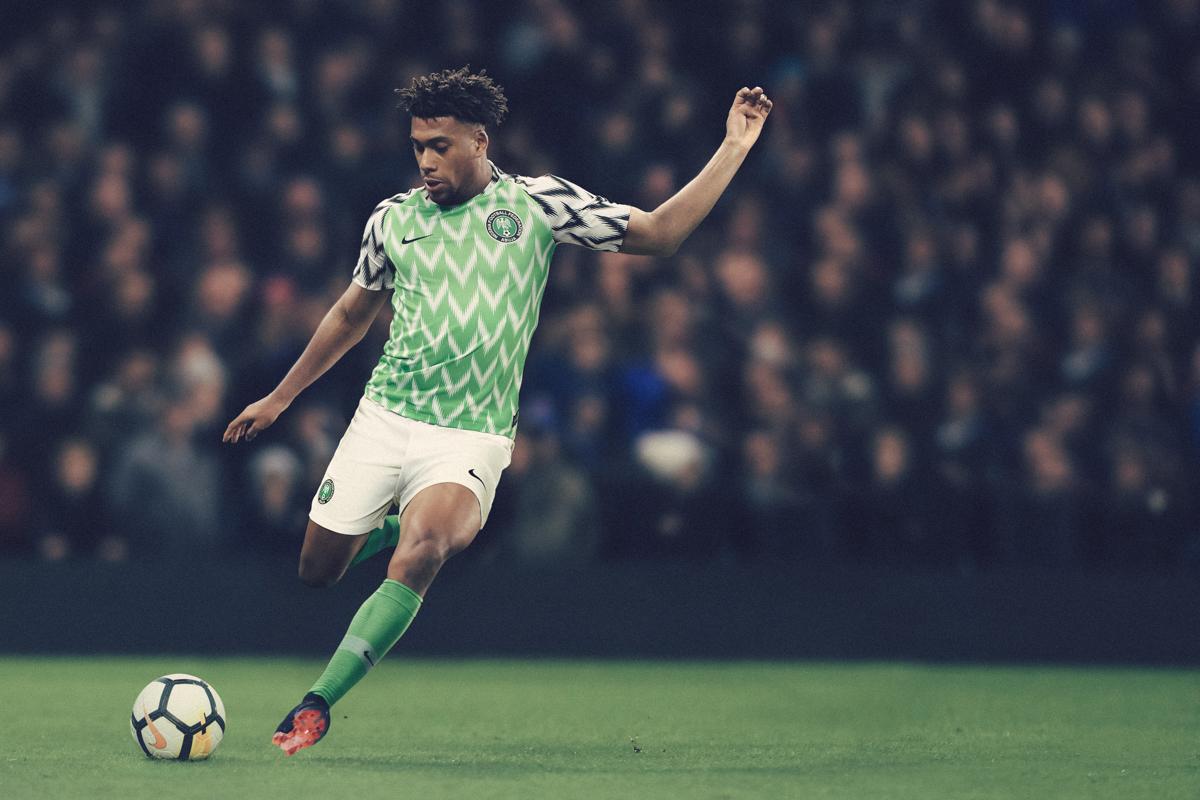 Maglie Nigeria Mondiali Russia 2018