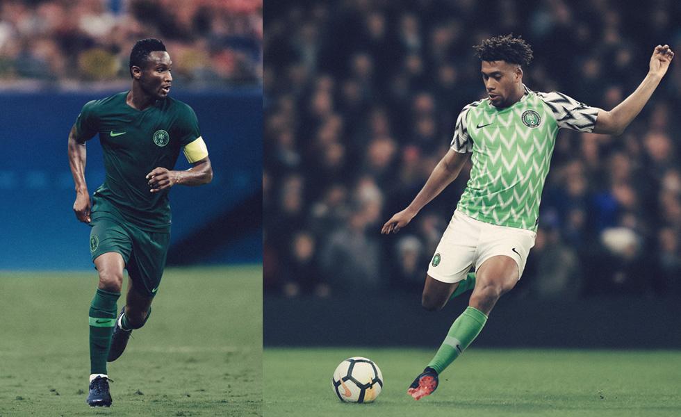 Nike presenta le maglie della Nigeria per i Mondiali di Russia 2018: Naija!