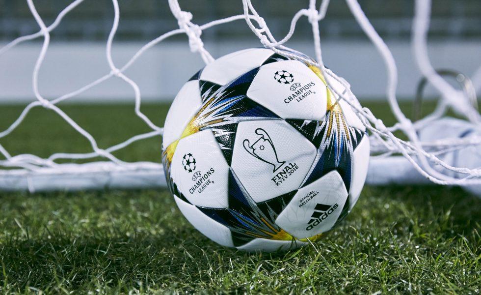 Champions League, ecco il pallone Adidas Finale Kiev 2018