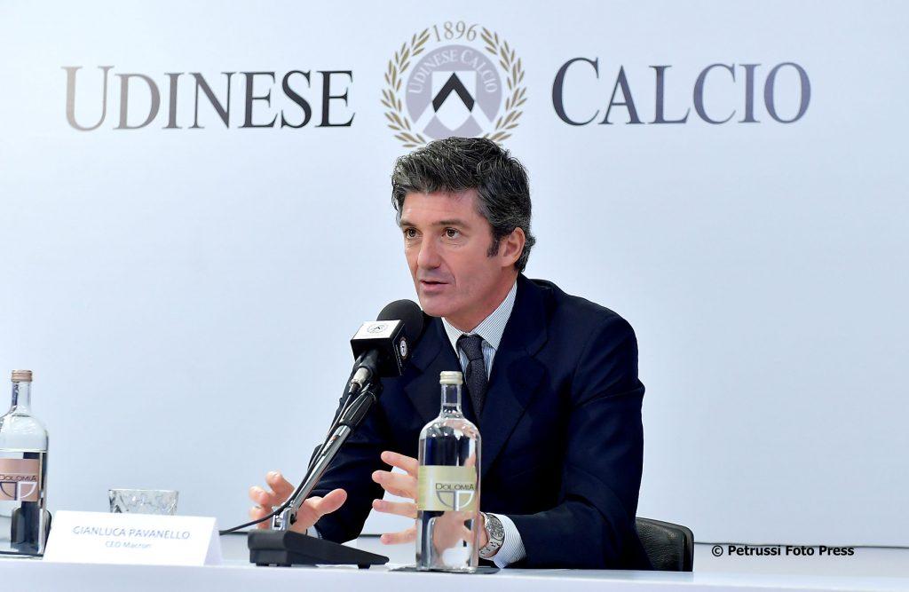 Maglie Udinese Macron Pavanello